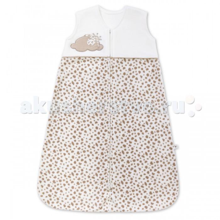 Постельные принадлежности , Спальные конверты Happy Baby Комбинезон-мешок на молнии Жирафенок Уго арт: 455606 -  Спальные конверты