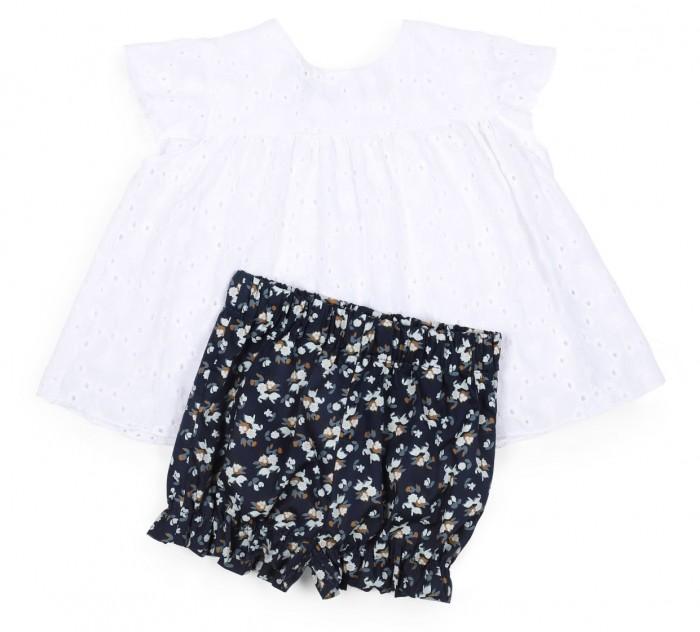 Картинка для Happy Baby Комплект для девочек (блуза, шорты) 88023
