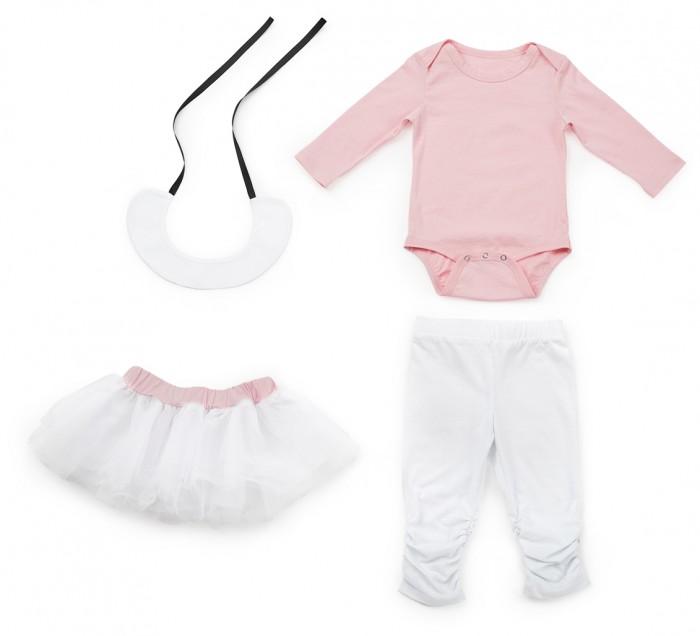 Happy Baby Комплект для девочек (боди, леггинсы, юбка)