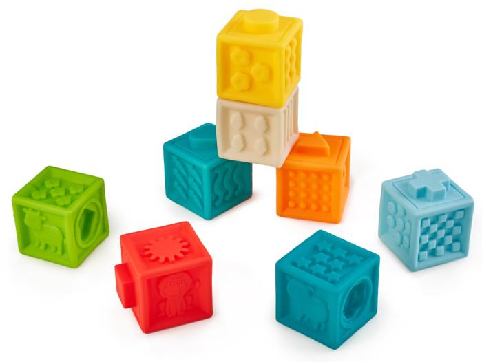 Развивающие игрушки Happy Baby Кубики конструктор Funny Blocks
