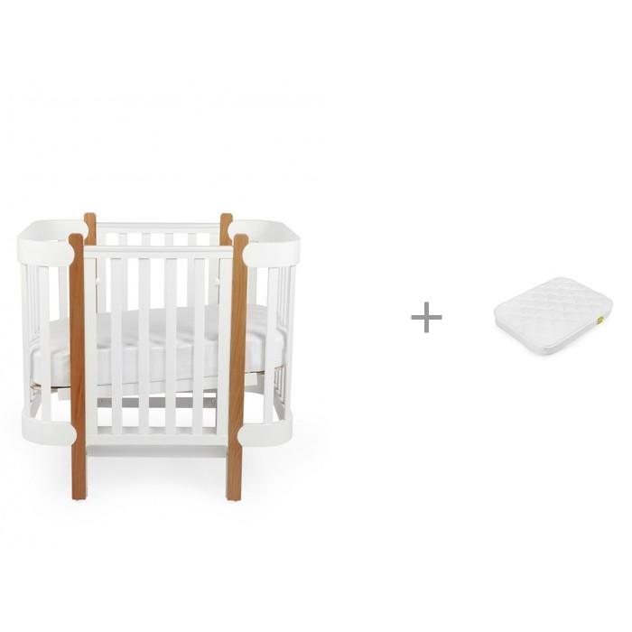 Купить Кроватки-трансформеры, Кроватка-трансформер Happy Baby Mommy Lux с матрасом 90х70 см