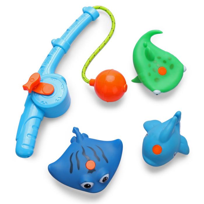 Купить Игрушки для ванны, Happy Baby Набор игрушек для ванной Fishman