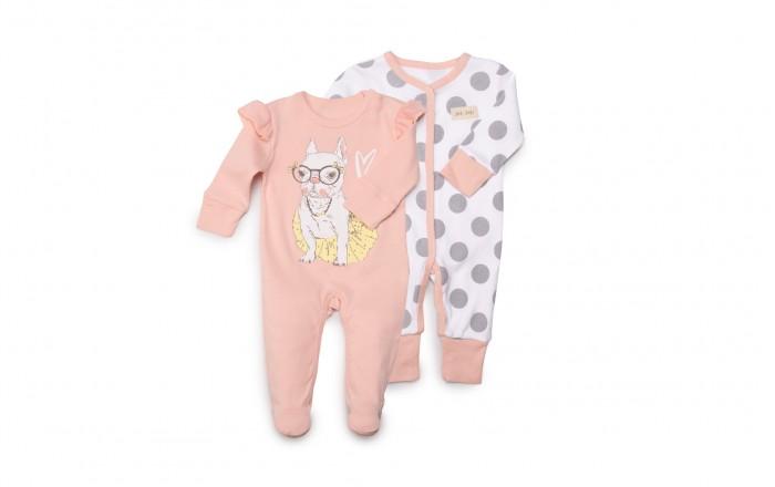 Комбинезоны и полукомбинезоны Happy Baby Набор из двух комбинезонов 90018, Комбинезоны и полукомбинезоны - артикул:597444