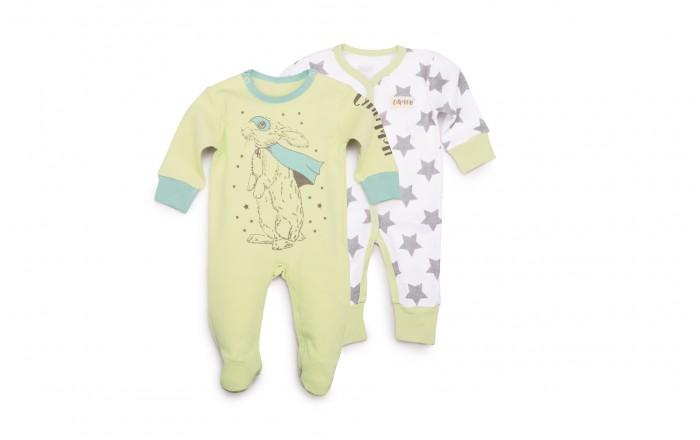 Комбинезоны и полукомбинезоны Happy Baby Набор из двух комбинезонов 90019, Комбинезоны и полукомбинезоны - артикул:597449