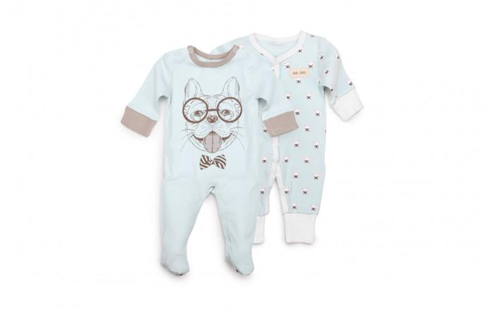 Комбинезоны и полукомбинезоны Happy Baby Набор из двух комбинезонов 90017, Комбинезоны и полукомбинезоны - артикул:597419