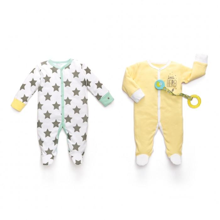 Детская одежда , Пижамы и ночные сорочки Happy Baby Набор из двух пижам Звезды 90000 арт: 423564 -  Пижамы и ночные сорочки