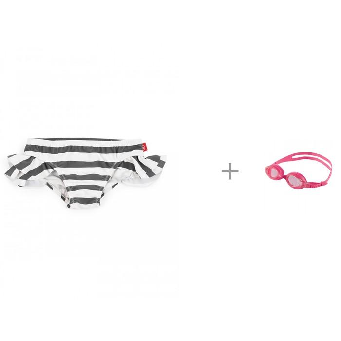 Happy Baby Плавки для девочек 50533 с очками для плавания Arena X-Lite Kids