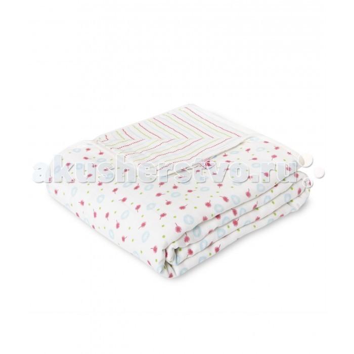 Пледы HappyBabyDays одеяло для новорожденного Одуванчики happybabydays плед двухсторонний нежность