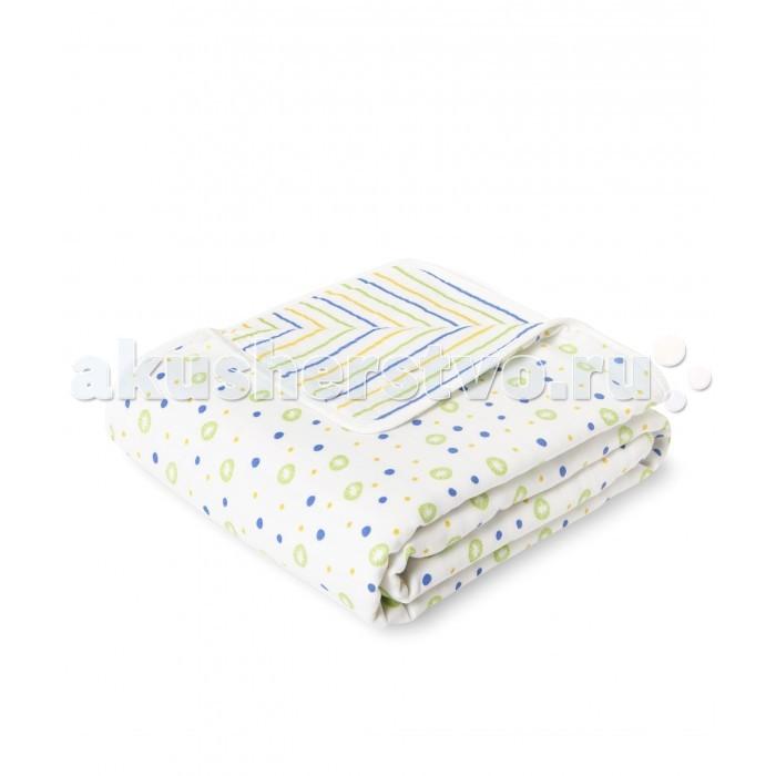 Постельные принадлежности , Пледы HappyBabyDays одеяло для новорожденного Одуванчики арт: 455586 -  Пледы