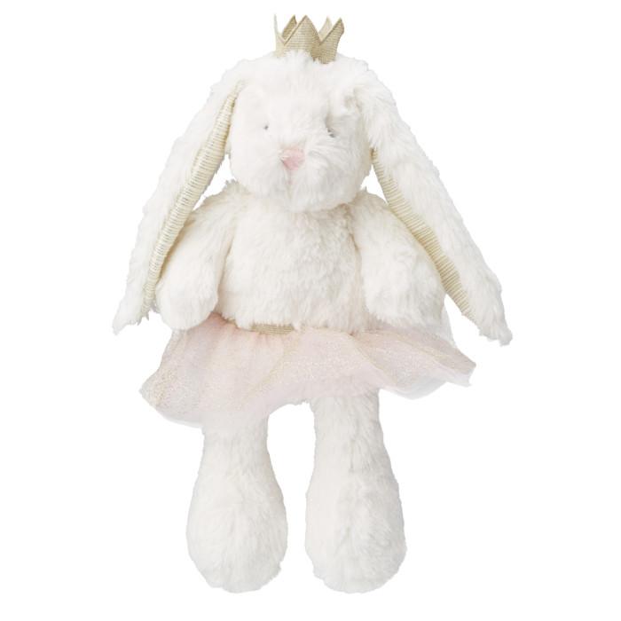 Мягкая игрушка Happy Baby Плюшевый Заяц в юбке Пухоня