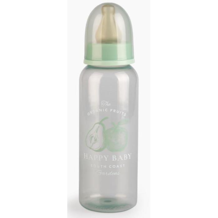 Бутылочки Happy Baby с латексной соской 250 мл бутылочка happy baby drink up с силиконовой соской с рождения 240 мл