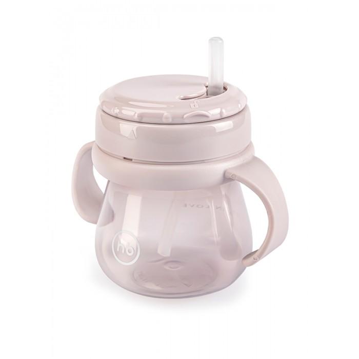 Поильники Happy Baby Straw Feeding Cup с трубочкой и ручками 250 м