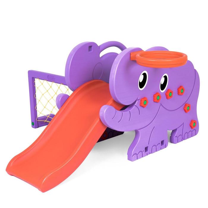 Happy Box Детский игровой комплекс для дома и улицы Elephant JM-706D