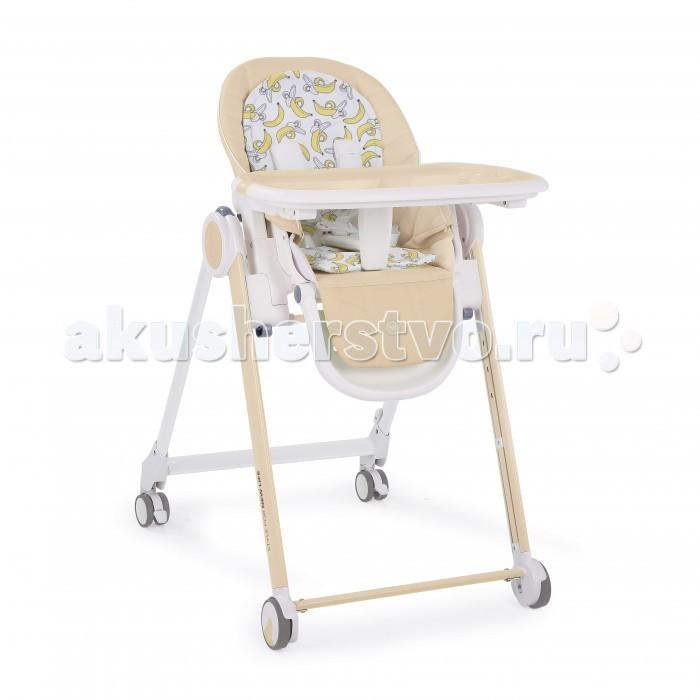 Стульчик для кормления Happy Baby BernyBernyСтульчик для кормления Happy Baby Berny разработан специально для максимального комфорта, как для малыша, так и для родителей. Современное концептуальное звучание формы, материалов и цветовое исполнение гарантирует превосходную адаптацию стульчика в интерьере вашей кухни.   Особенности: Прочная рама обеспечивает максимальную надежность стульчика и выдерживает вес ребенка до 25 кг, что позволяет использовать стульчик для крупных малышей Четыре колеса со специальным резиновым покрытием позволяют перемещать стульчик по кухне без усилий и не оставляя следов, а особая форма колес гарантирует их долгий срок службы Созданный на высокотехнологичном производстве, стульчик BERNY не имеет острых углов, что вместе с пятиточечными ремнями безопасности обеспечивает максимальную безопасность для ребенка Столешница стульчика надевается одной рукой и имеет 3 положения по глубине, а съемный поднос можно мыть в посудомоечной машине Стульчик имеет 5 положений по высоте, 3 положения наклона спинки, включая горизонтальное, позволяющее использовать стульчик, как шезлонг, а также 3 положения наклона подножки Двусторонняя мягкая вкладка в стильном дизайне обеспечит малышу наиболее комфортный отдых Чехол стульчика прост в уходе и легко моется, а благодаря качественной отстрочке, повторяющей эргономичные формы, стульчик имеет неотразимый стильный вид Двухсторонняя мягкая вкладка (гладкая и махровая стороны) Задние поворотные колёса добавляют маневренности Крючок для складывания подноса Тормозной механизм на задних колёсах.<br>