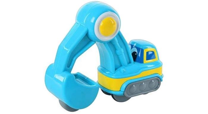 Каталки-игрушки Happy Kid Toy Экскаватор Нажми и поедет куплю ковш для экскаватора с документами
