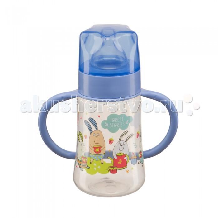 Бутылочки Happy Baby Baby Bottle с ручками и силиконовой соской 240 мл бутылочка happy baby drink up с силиконовой соской с рождения 240 мл