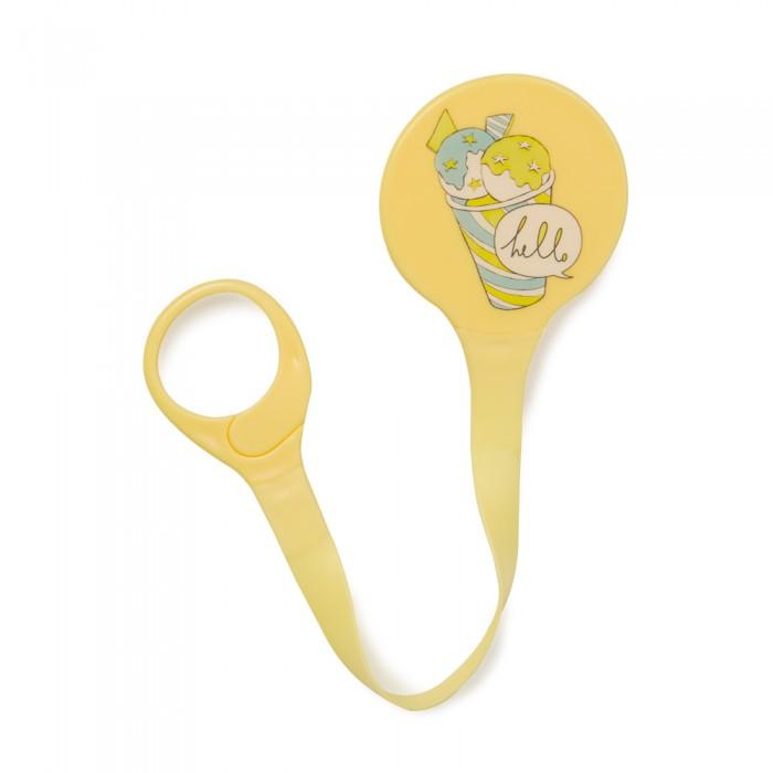 Аксессуары для пустышек Happy Baby Держатель для пустышки Pacifier Holder 11007 baby sun love only natural держатель для пустышки жел зел силиконовая пустышка 3 6м желтый