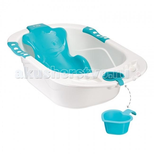 Купание малыша , Детские ванночки Happy Baby Детская ванна с анатомической горкой Bath Comfort арт: 21276 -  Детские ванночки
