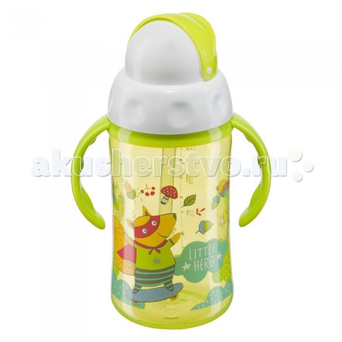 Поильники Happy Baby с трубочкой и вращающейся крышкой Feeding Cup 240 мл поильники happy baby straw feeding cup большой с трубочкой 360 мл