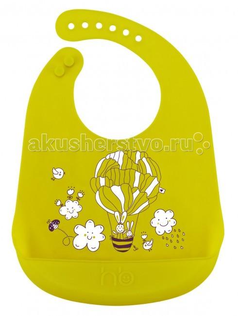 купить Нагрудники Happy Baby силиконовый Bib Pocket недорого
