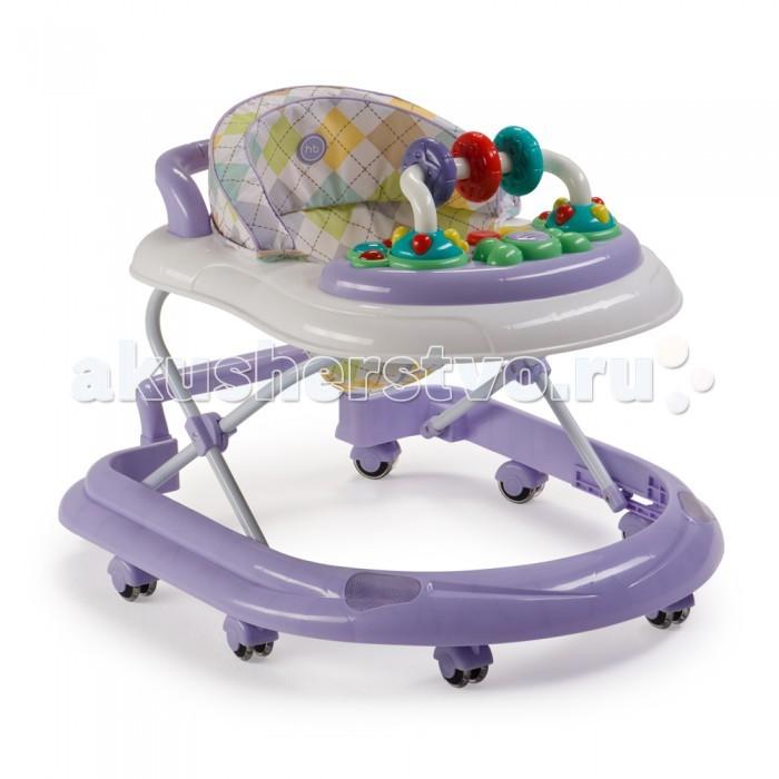 Ходунки Happy Baby Smiley V2Smiley V2Ходунки Happy Baby Smiley V2 развивают координацию движений и помогут ребёнку научиться держать равновесие.  Мягкие цвета ходунков привлекут внимание ребенка. Игровая панель со звуковыми эффектами и игрушками поможет развить у малыша зрение, слух, хватательный рефлекс и мелкую моторику. Мягкое, удобное сиденье легко регулируется в 3-х положениях в зависимости от роста.  Ходунки Smiley V2 оборудованы специальными силиконовыми колесами, которые не поцарапают напольное покрытие. Игровая панель работает от 2-х пальчиковых батареек (тип АА).  Особенности:Регулируются по высоте: 3 положения Развивают координацию движений Учат ребенка держать равновесие На задней части ходунков расположена ручка, которая позволяет использовать их в качестве каталки Силиконовые колеса: 8 шт Съемная игровая панель со звуковыми и световыми эффектами: 12 мелодий Развивающие игрушки механически вращаются Для работы игровой панели необходимо 2 батарейки типа АА Габариты в сложенном виде ДхШхВ: 70х59.5х30 см Габариты в разложенном виде ДхШхВ: 70х59.5х54 см Максимальный вес ребенка: 12 кг<br>