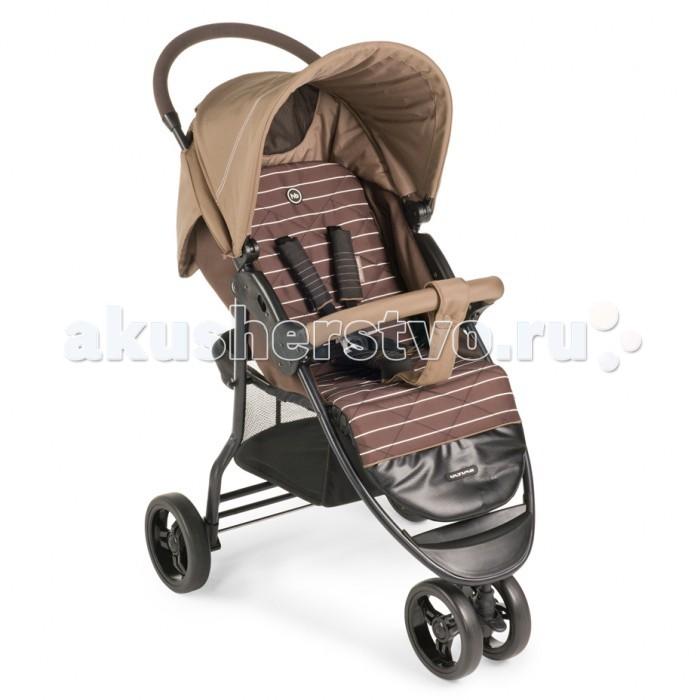 Прогулочная коляска Happy Baby UltimaUltimaПрогулочная коляска Happy Baby Ultima. Сдвоенное переднее колесо данной модели обеспечит высокую надежность и максимальную устойчивость. Возможность переключения режима передних колес (фиксированный или поворотный) превращает коляску в настоящий внедорожник-вездеход.   Ultima имеет просторное посадочное место, в котором не будет тесно даже крупным деткам. При весе всего 8.5 кг коляска имеет амортизацию на передних и задних колесах, съемный бампер, регулируемую в 3 положениях подножку, большой капор со смотровым окном и прозрачной пленкой, пятиточечные ремни безопасности с мягкими накладками, удобную тормозную систему.  Особенности: Плавная регулировка наклона спинки, количество положений не ограничено Регулируемая подножка, 3 положения Капюшон опускается до бампера Смотровое окошко на капюшоне Пятиточечные ремни безопасности с мягкими накладками Колеса: пластиковые с покрытием EVA (этиленвинилацетат) Колёсная база: переднее колесо сдвоенное, поворотное с возможностью фиксации Тормозная педаль на оси задних колес Ширина сиденья: 34 см Глубина сиденья: 22 см Длина спального места: 85 см.<br>