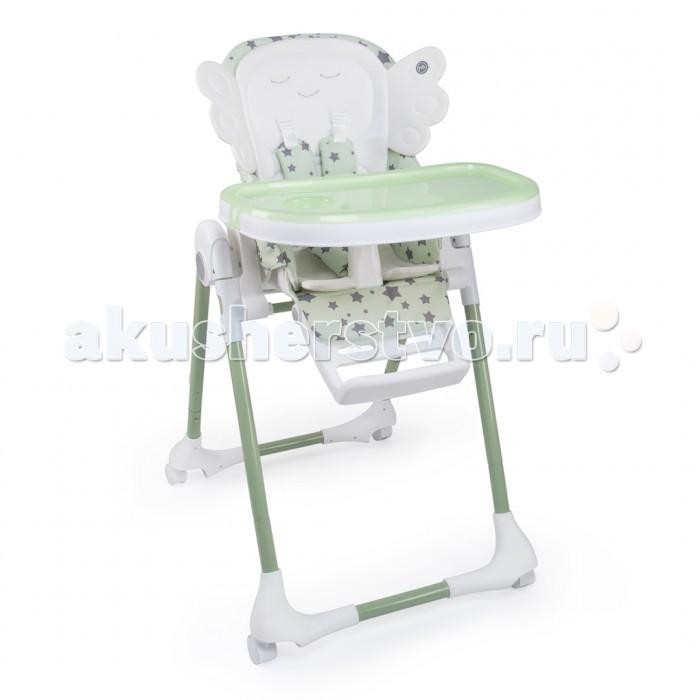 Стульчик для кормления Happy Baby WingyWingyСтульчик для кормления Happy Baby Wingy это комфорт и безопасность малыша в то время, как он познает мир и делает первые шаги к самостоятельности.  Стульчик для кормления Wingy сочетает в себе креативный дизайн, отличный функционал и доступную цену! Стильный дизайн стульчика Wingy создаст позитивную атмосферу на любой кухне, а благодаря особенной форме матрасика в виде крылышек, вы сможете делать незабываемые фотографии вашего ангелочка для Instagram или семейного альбома.   Удобная столешница регулируется в трех положениях и имеет съемный поднос, что позволяет быстро очистить поверхность столешницы во время еды. Стульчик WINGY имеет 8 положений по высоте и подножку, которую можно регулировать в трех положениях. Для удобства малыша модель оснащена: разделителем для ножек; водоотталкивающим чехлом, который легко снимается и просто стирается; пятиточечными ремнями безопасности. 4 поворотных колесика с возможностью фиксации позволяют легко перемещать стульчик по квартире. Также стульчик имеет возможность стоять без опоры в сложенном виде, и не занимает много места.   Пять положений наклона спинки, включая горизонтальное (положение шезлонга), позволит малышу отдохнуть после еды и быть всегда рядом с вами. Простота и надежность конструкции позволяют быстро его складывать и раскладывать, а продуманная система фиксации столешницы не даст малышу случайно скинуть ее ножками.  Особенности: Возраст: 6 месяцев - 3 года Максимальный вес ребенка: 25 кг Вес стульчика: 8.5 кг Ширина сиденья: 27 см Глубина сиденья: 23 см Съёмная столешница: да Регулируемое сиденье Регулируемая подножка Размеры в сложенном виде: 60 x 31 x 83 см Размеры в разложенном виде: 60 x 82 x 105 см Ремни безопасности: 5-ти точечные с мягкими накладками Регулировка сиденья по высоте: 8 положений Регулируемый наклон спинки: 5 положений (110°/120°/130°/140°/165°) Регулируемый наклон подножки: 3 положения Колеса: 4 поворотных колеса с тормозами Съемная столешница регулир