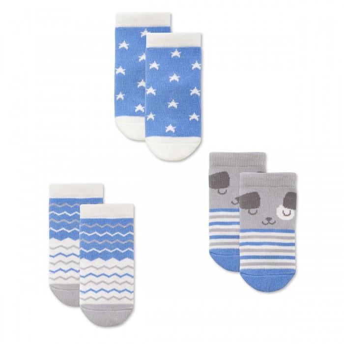 Колготки, носки, гетры HappyBabyDays Носочки 3 пары Нежность happybabydays плед двухсторонний нежность