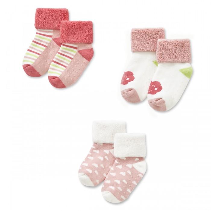 Колготки, носки, гетры HappyBabyDays Носочки Дождик любви махра 3 пары