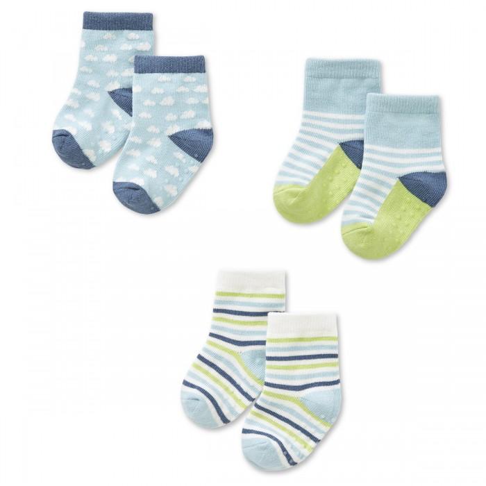 Колготки, носки, гетры HappyBabyDays Носочки Дождик любви трикотаж 3 пары