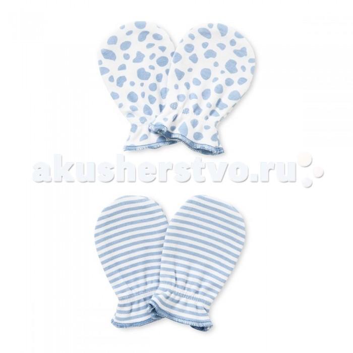 Антицарапки HappyBabyDays Антицарапки Жирафенок Уго 2 пары одежда для новорождённых