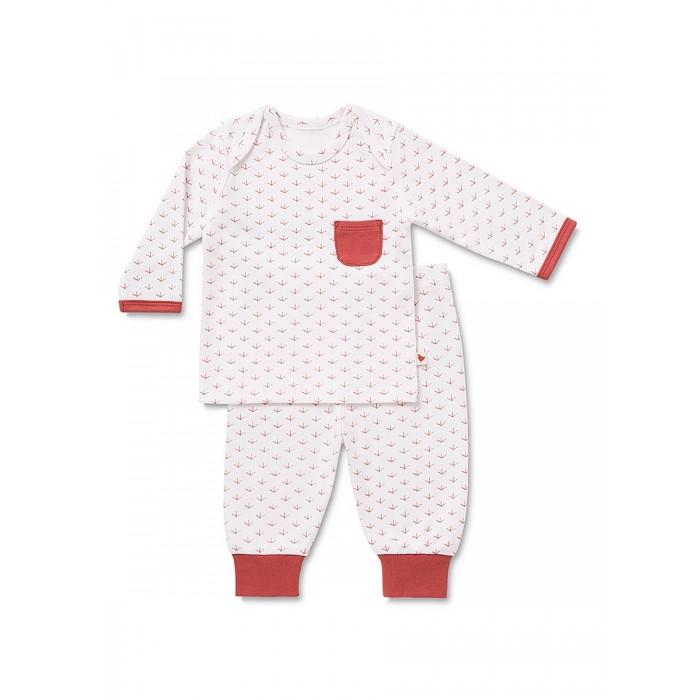 Пижамы и ночные сорочки HappyBabyDays Пижама Птичьи лапки happybabydays плед двухсторонний нежность