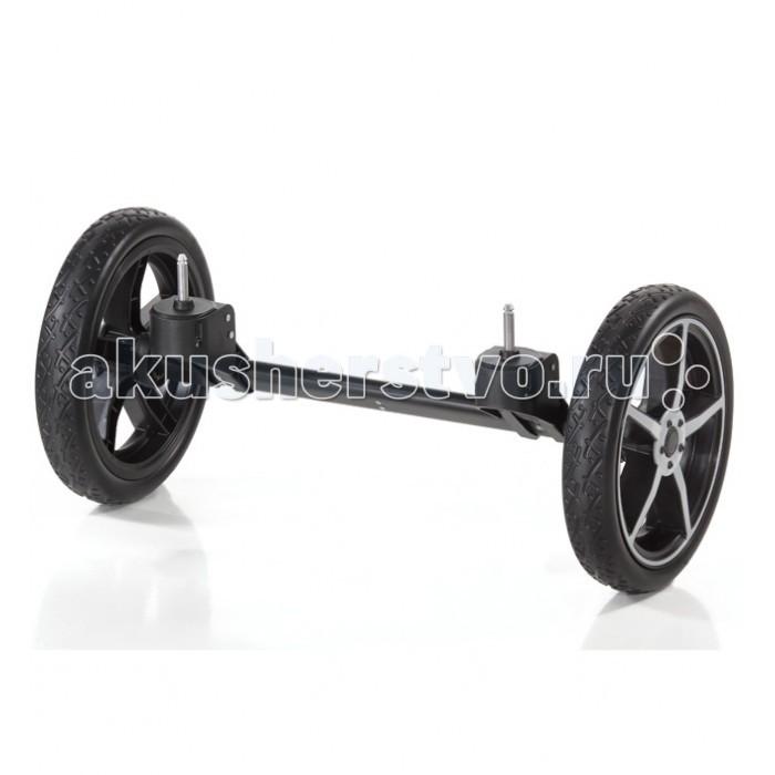 Hartan Quad-system для Topline SQuad-system для Topline SСистема дополнительных сменных передних колес предназначена для увеличения маневренности коляски в любых условиях, куда бы Вы ни направились – на прогулку в парк или в магазин за покупками. Процесс замены колес очень прост, не требует инструментов и занимает минимум времени и сил. Подходит для колясок Hartan Topline S.  Материалы: алюминиевая основа, колеса – полиуретан; не требует особого ухода Колеса- Цельные, полиуретановые, бескамерные<br>