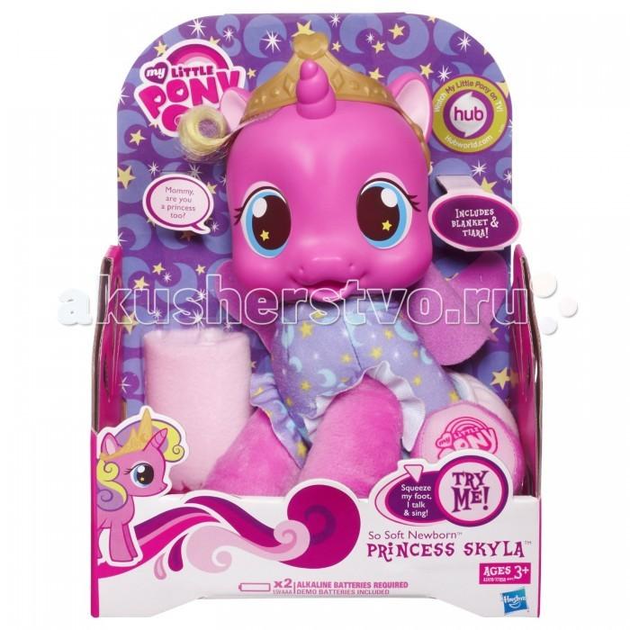 Интерактивная игрушка My Little Pony Hasbro Игрушка малыши Эпл Спраут и Скайла