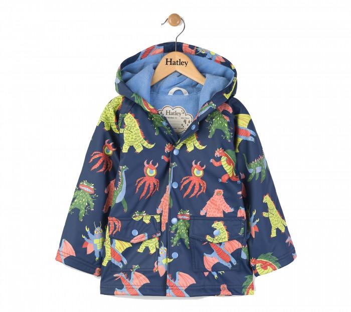 Детская одежда , Ветровки, плащи, дождевики и жилеты Hatley Плащ непромокаемый RC6DINO532 арт: 479261 -  Ветровки, плащи, дождевики и жилеты