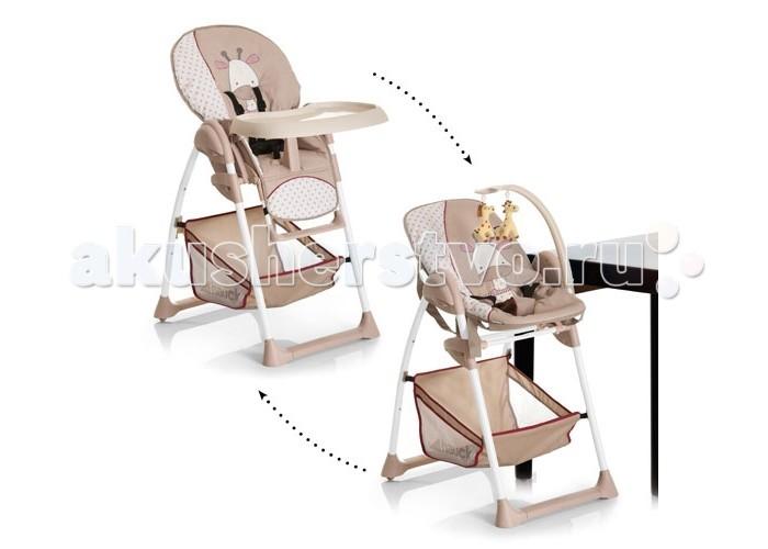 Стульчики для кормления Hauck Sitin Relax + шезлонг для новорожденного колготки детские махровые для девочки barkito бантик розовый