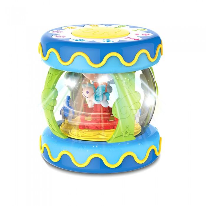Развивающие игрушки Huanger Барабан-карусель большой со светом и звуком