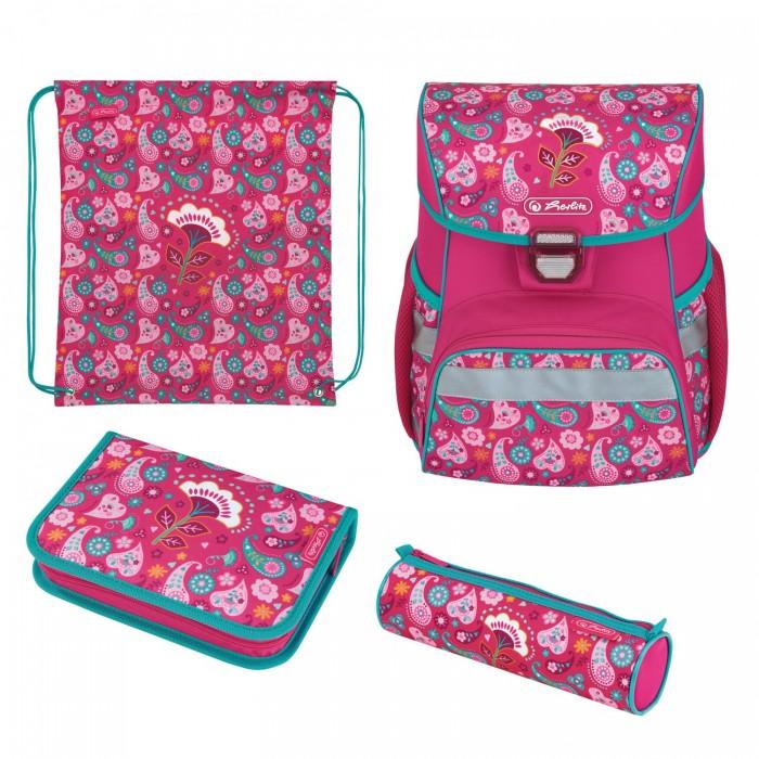Школьные рюкзаки Herlitz Ранец Loop Plus Indian Summer с наполнением
