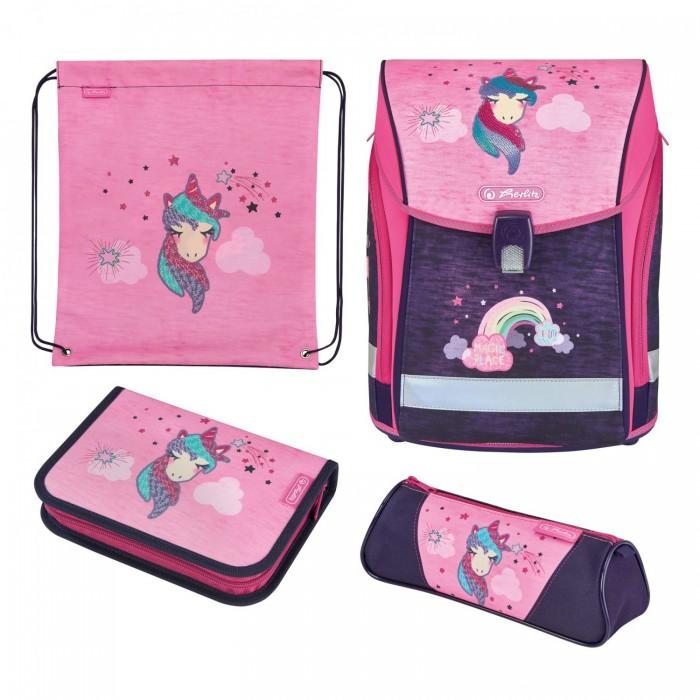 Школьные рюкзаки Herlitz Ранец Midi Plus Unicorn с наполнением herlitz ранец herlitz midi plus unicorn night с наполнением