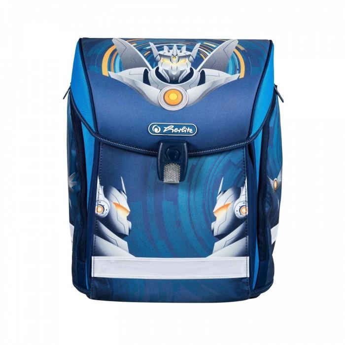Школьные рюкзаки Herlitz Ранец Midi Robot ранец midi plus black diamond с наполн herlitz