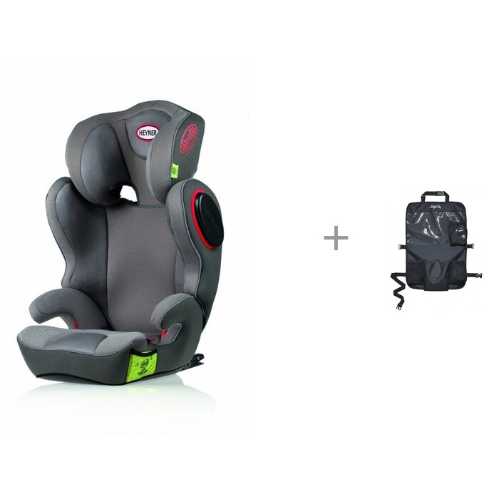 Группа 2-3 (от 15 до 36 кг) Heyner MaxiFix Ergo 3D-SP с защитой автомобильного сиденья Forest