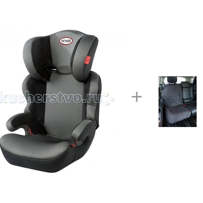 Автокресло Heyner MaxiProtect Aero и  Знак-табличка в автомобиль Ребенок в машине Baby Safety