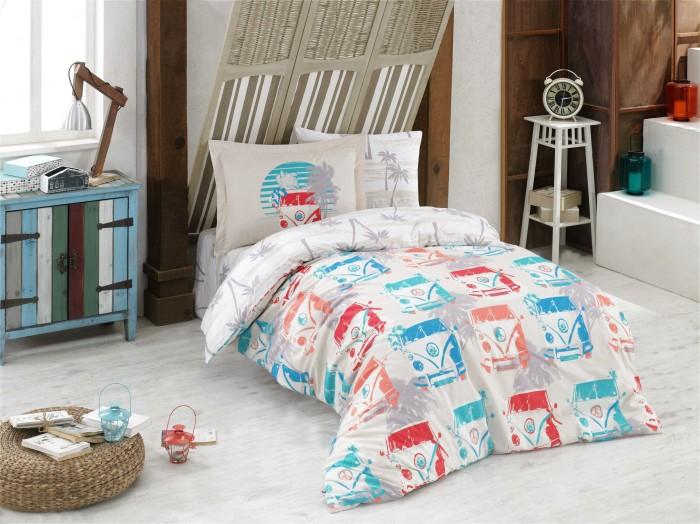 Постельные принадлежности , Постельное белье 1.5-спальное Hobby Home Collection Renata 1,5 спальное Евро (4 предмета) арт: 478266 -  Постельное белье 1.5-спальное