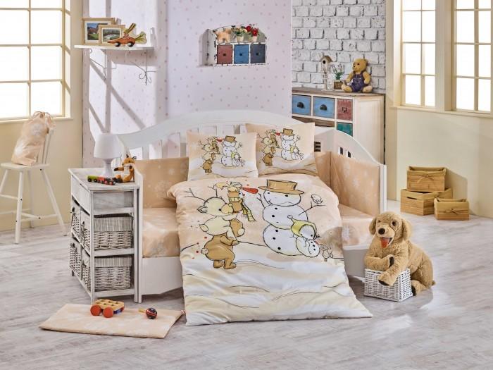 Комплекты в кроватку Hobby Home Collection Snowball 100х150 см (10 предметов)