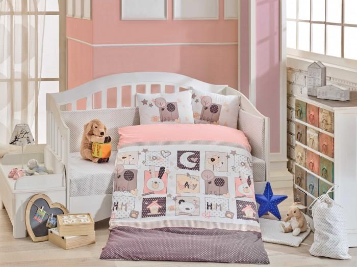 Постельные принадлежности , Постельное белье Hobby Home Collection Sweet Home арт: 424589 -  Постельное белье
