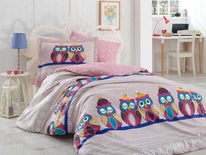 Постельные принадлежности , Постельное белье 1.5-спальное Hobby Home Collection 1.5-спальное Linda 160x240 см арт: 298996 -  Постельное белье 1.5-спальное