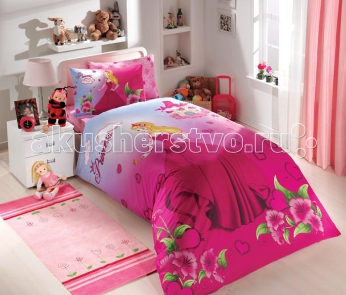 Постельное белье Hobby Home Collection 1.5-спальное Prenses 160x240 см