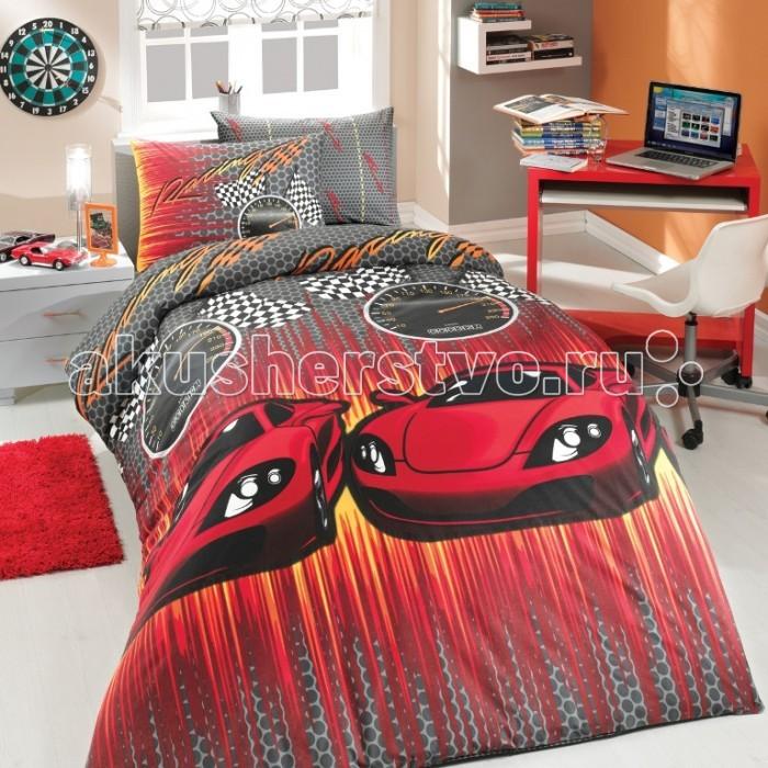 Постельные принадлежности , Постельное белье 1.5-спальное Hobby Home Collection 1.5-спальное Speed 160x240 см ранфорс арт: 299059 -  Постельное белье 1.5-спальное