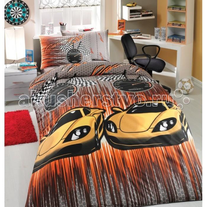 Постельное белье Hobby Home Collection 1.5-спальное Speed 160x240 см ранфорс
