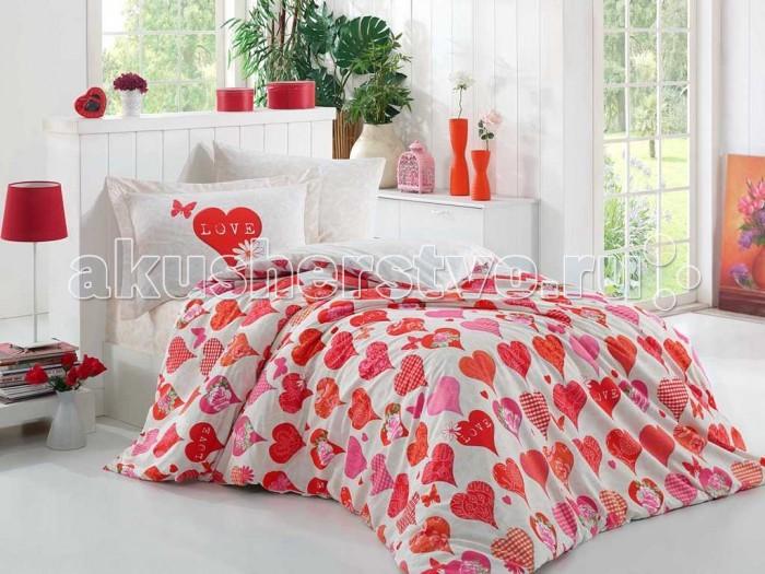 Постельные принадлежности , Постельное белье 1.5-спальное Hobby Home Collection 1.5-спальное Vera 160x240 см арт: 299008 -  Постельное белье 1.5-спальное